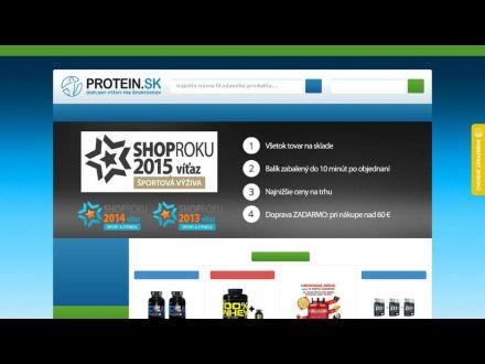 www.protein.sk