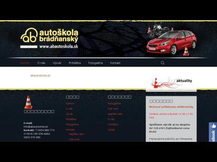 www.abautoskola.sk