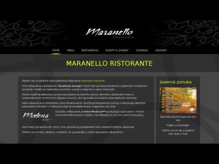 www.maranello-ristorante.sk