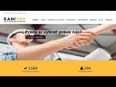 www.sanitax.sk