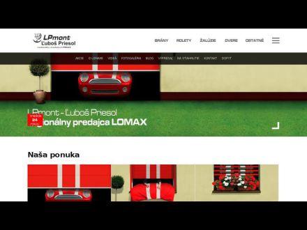 www.lomax-dolnykubin.sk