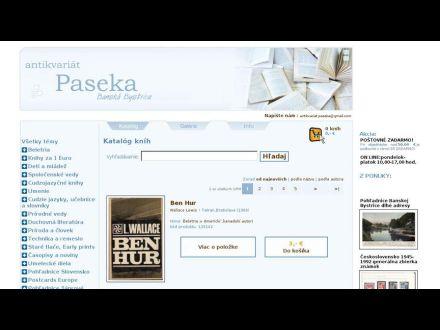 www.paseka.sk
