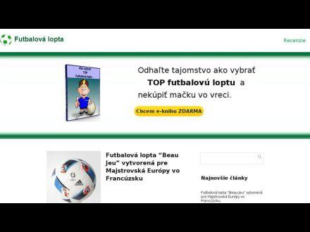 2eeffe550 Futbalová lopta, info@futbalovalopta...