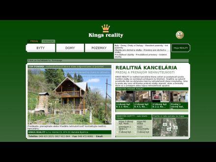www.kingsreality.sk