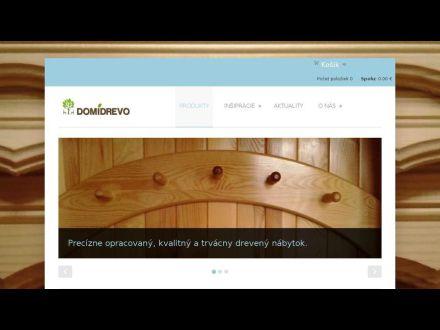 www.domidrevo.sk