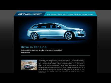www.driveincar.sk