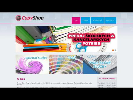 www.copyshoppk.sk