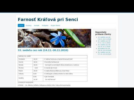 www.farnostkralova.sk