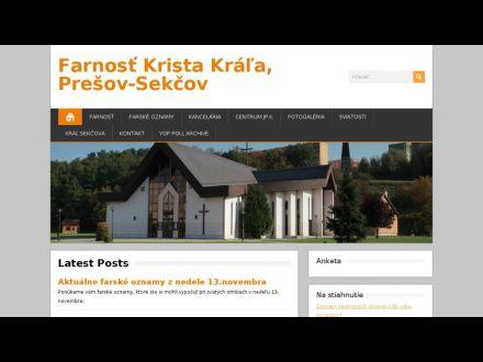 www.sekcov.fara.sk