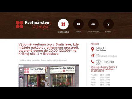 www.kvetinarstvomichaela.sk