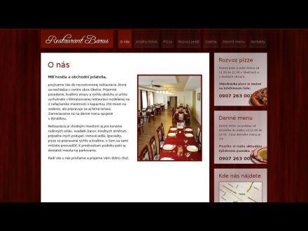 www.restaurantbarus.sk