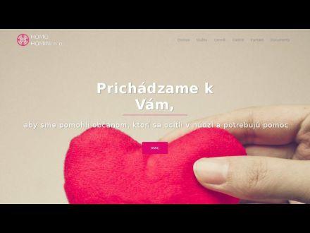 www.homohomini.sk