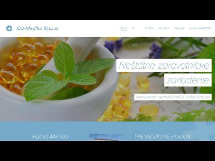 www.co-medika-iii-s-r-o.webnode.sk