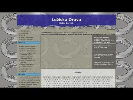 www.loziska-orava.sk