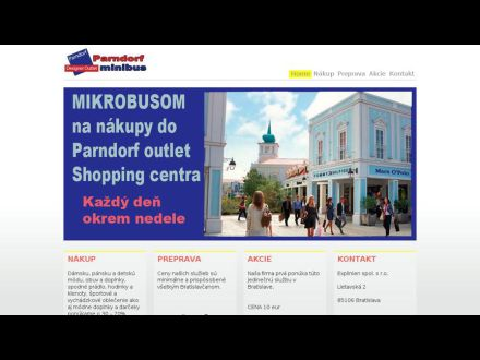 www.parndorf.sk