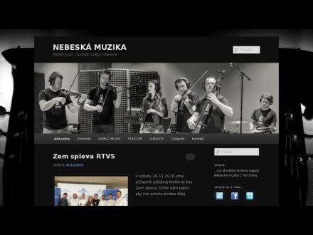www.nebeskamuzika.sk