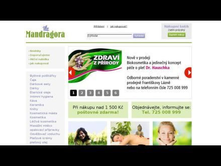 www.imandragora.cz