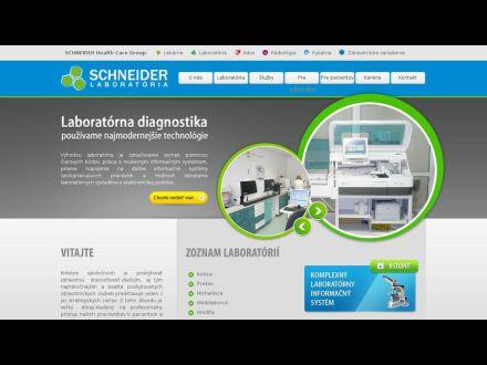 www.schneider-laboratoria.sk