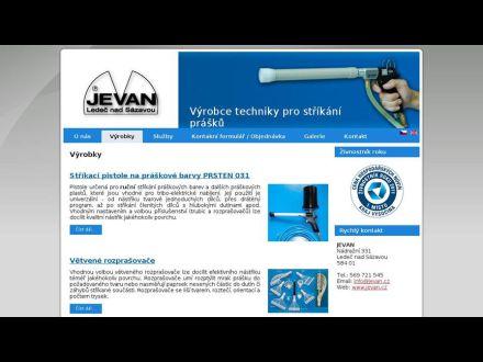 www.jevan.cz