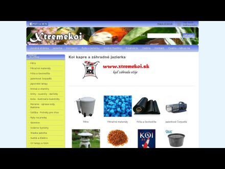 www.xtremekoi.sk