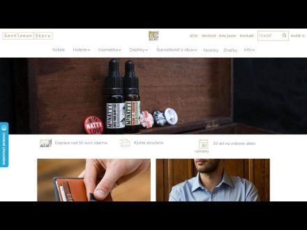 www.gentlemanstore.sk