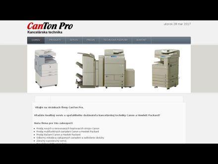 www.cantonpro.sk