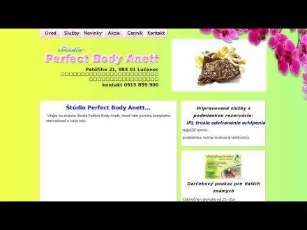 www.perfectbodyanett.sk