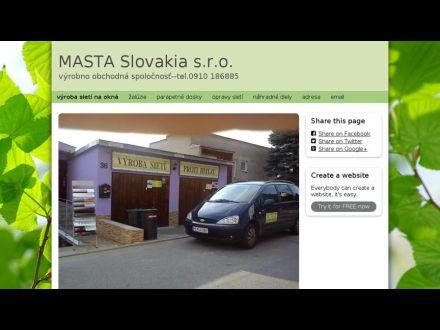 www.mastaslovakia.simplesite.com