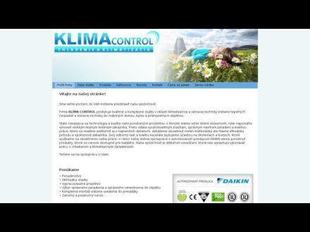 www.klimacontrol.sk