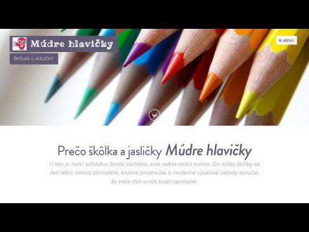 www.mudrehlavicky.sk