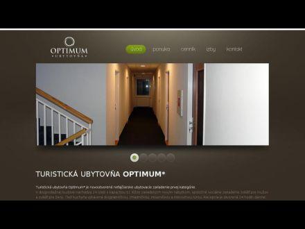 www.ubytovnaoptimum.sk