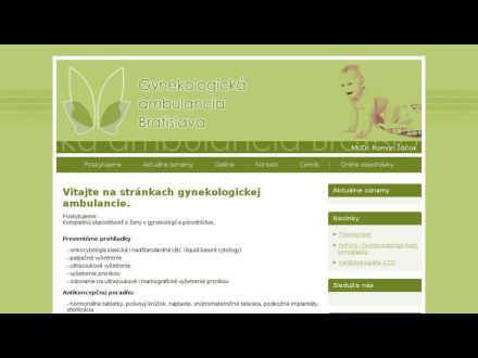 www.gynekologicka-ambulancia-bratislava.sk