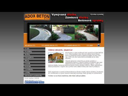 www.adoxbeton.sk/