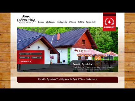 www.penzionbystrinka.sk