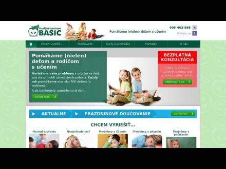 www.centrumbasic.sk