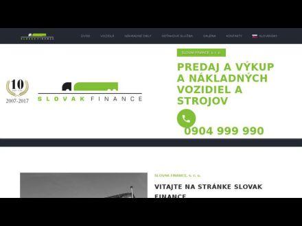 www.slovakfinance.sk