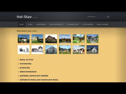 www.hol-stav.sk