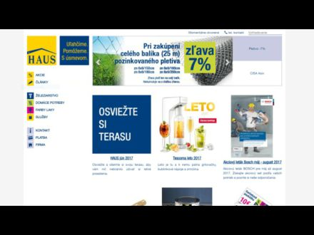 www.haus.sk