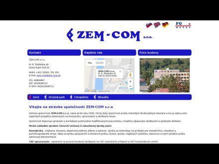 www.zem-com.sk