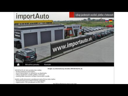 www.importauto.sk