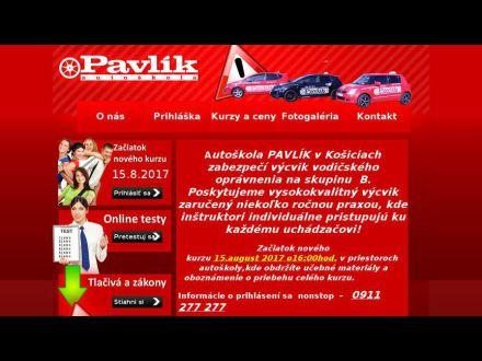 www.autoskolapavlik.sk