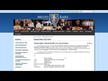www.rajec.info/section/default/901