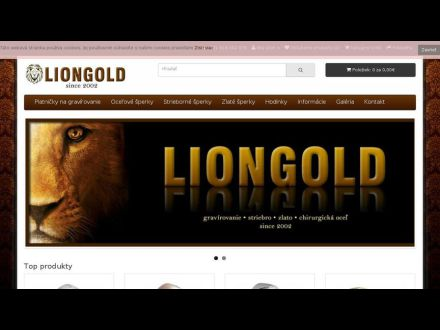 www.liongold.sk