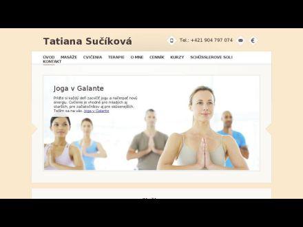www.masaze-joga.sk
