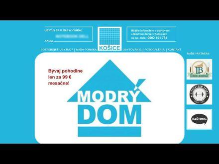 www.modrydomkosice.sk