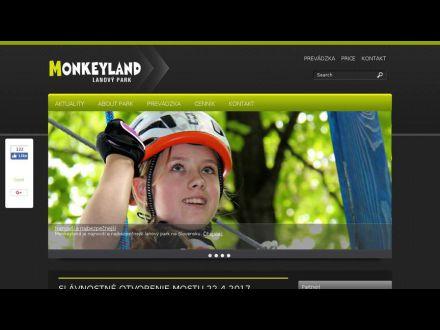 www.monkeyland.sk