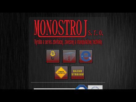 www.monostroj.sk