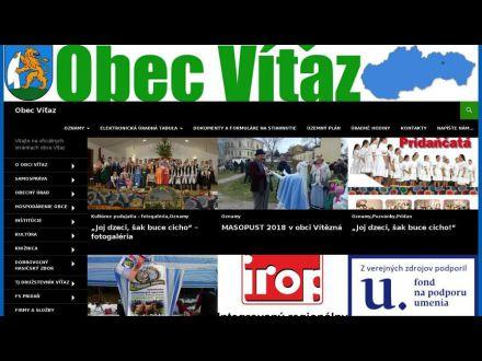 www.obecvitaz.sk
