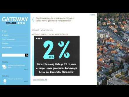 www.gatewaycollege.sk