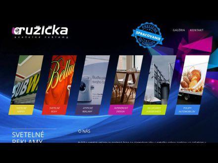 www.ruzickareklama.sk